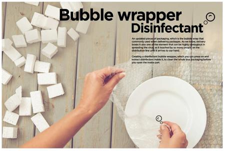 Bubble Wrapper Disinfectantkopie