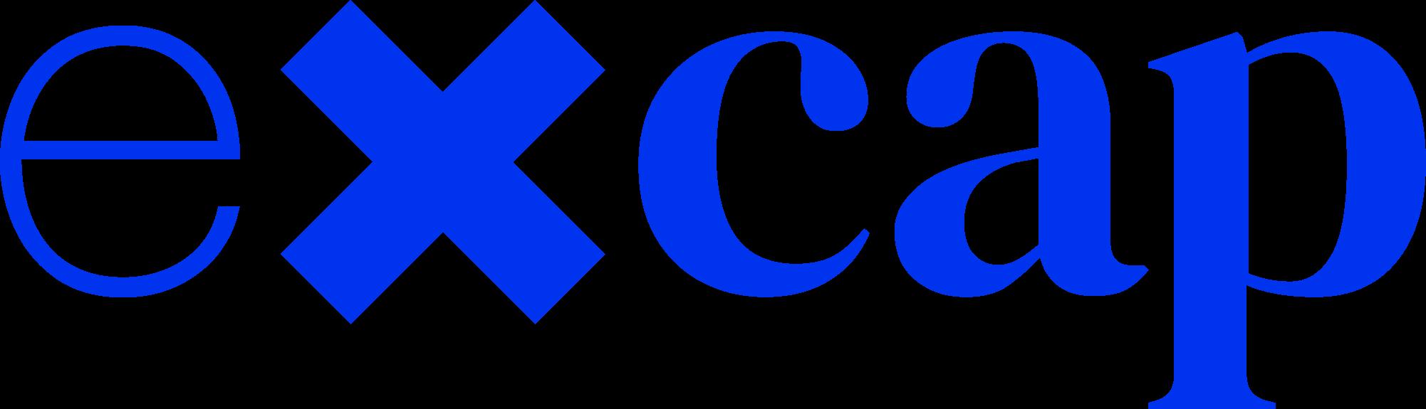 Logo excap RGB blauw